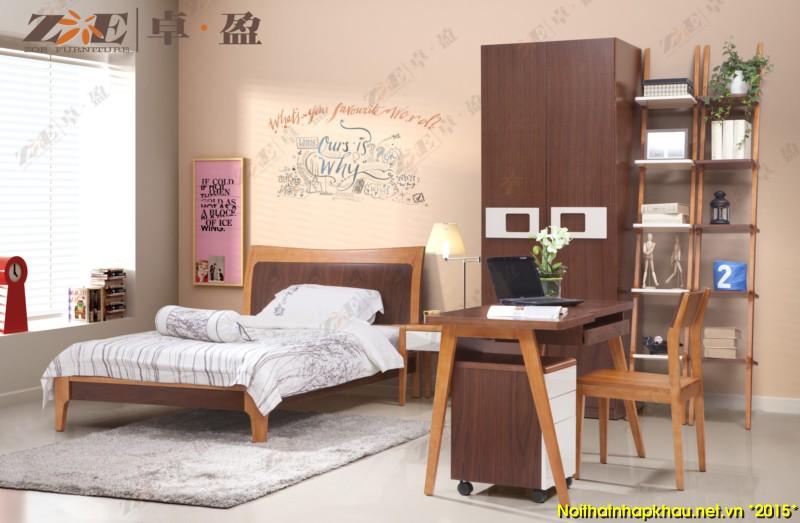 Giường ngủ đẹp AG011A
