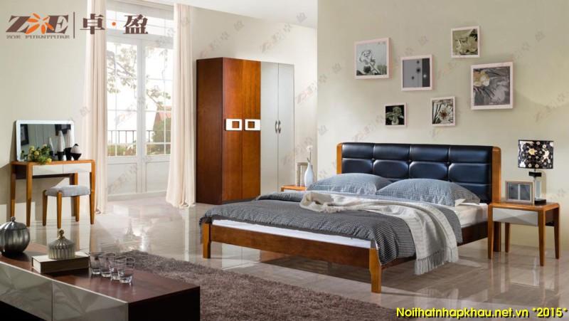 Giường ngủ đẹp AG012