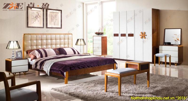 Giường ngủ đẹp AG014