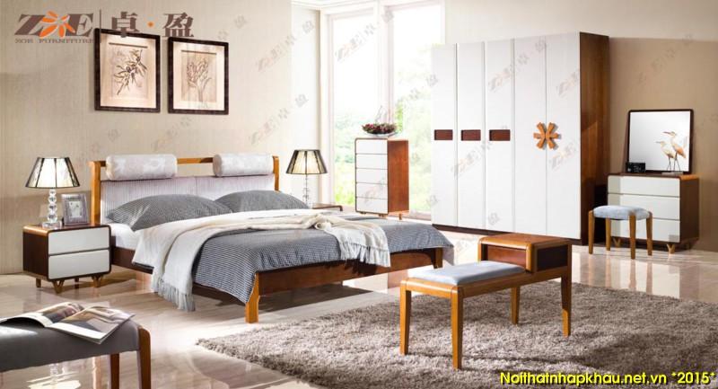Giường ngủ đẹp AG021