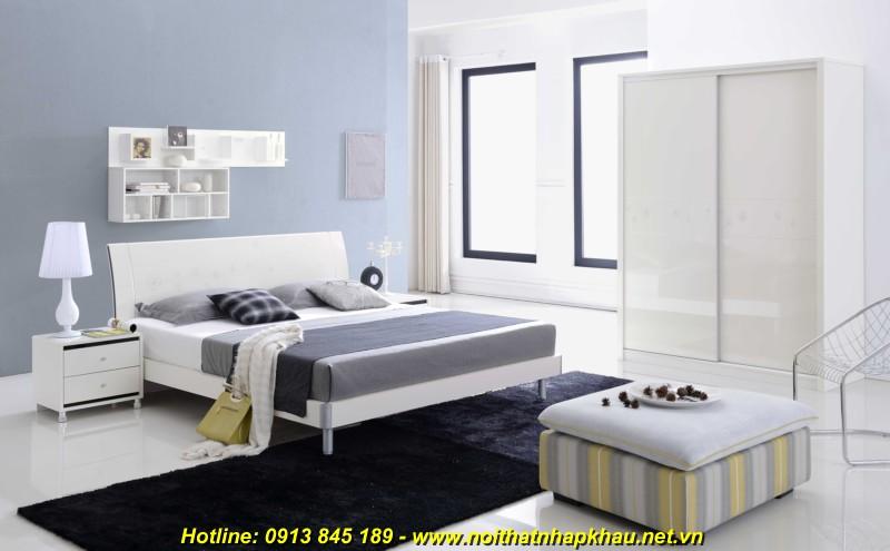 Giường ngủ đẹp B2612D
