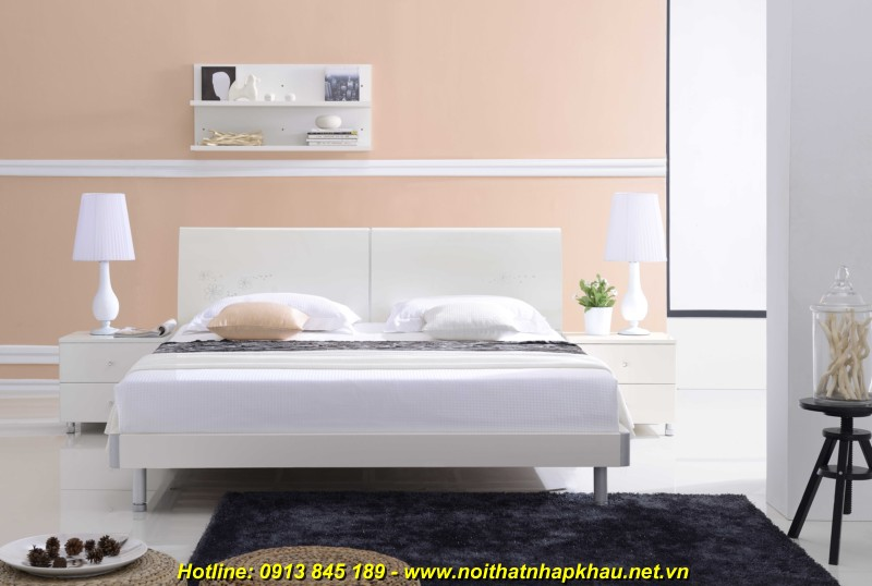 Giường ngủ đẹp 2613D