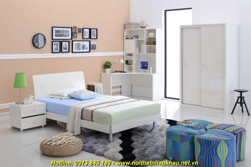 Giường ngủ đẹp B2720D