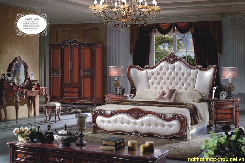 Giường ngủ đẹp S606