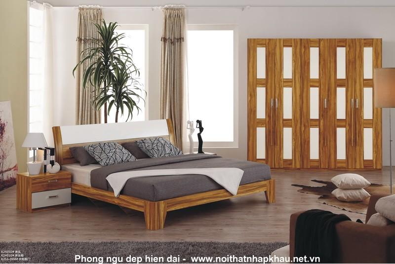 Giường ngủ laminate K2305D