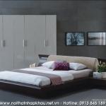 giường ngủ 4A15 - nâu