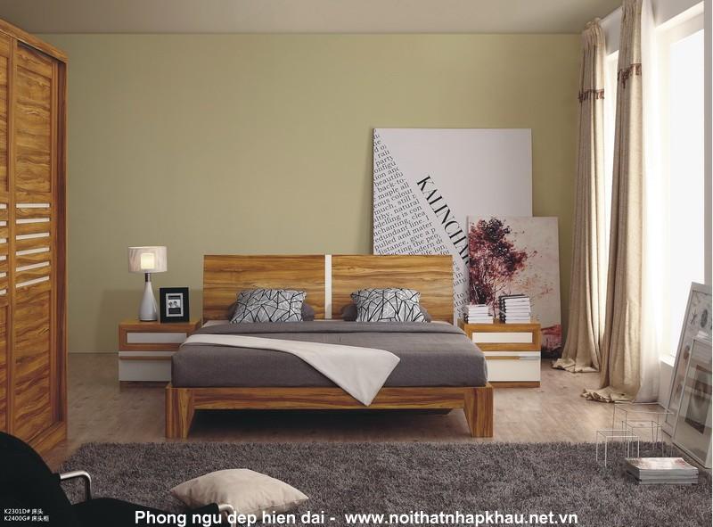Giường ngủ K2301D