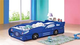 Giường ô tô H806-xanh