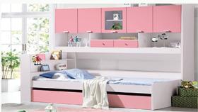 Giường tầng 855-hồng