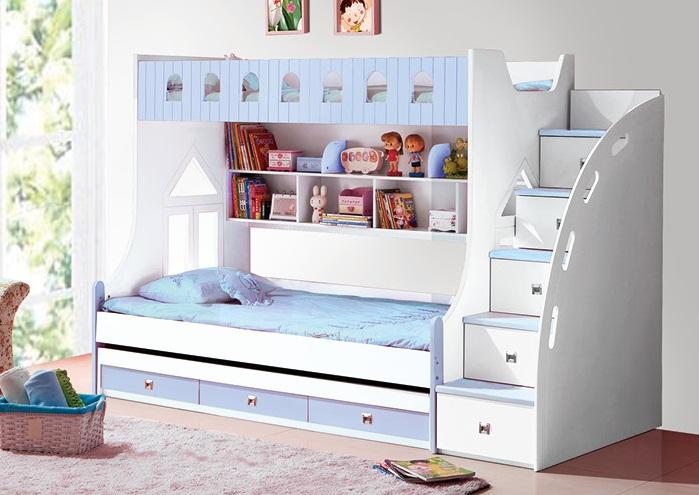 Giường tầng 859 – xanh