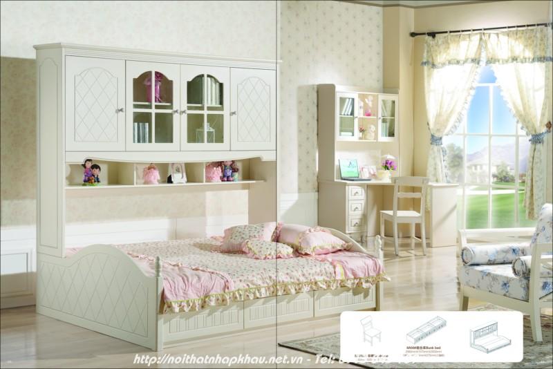Giường tầng đẹp 8A50