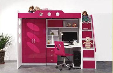 Giường tầng trẻ em 9638a