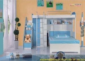 giường tầng đẹp cho trẻ em A205