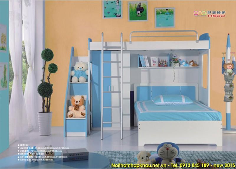 Giường tầng đẹp A205-B