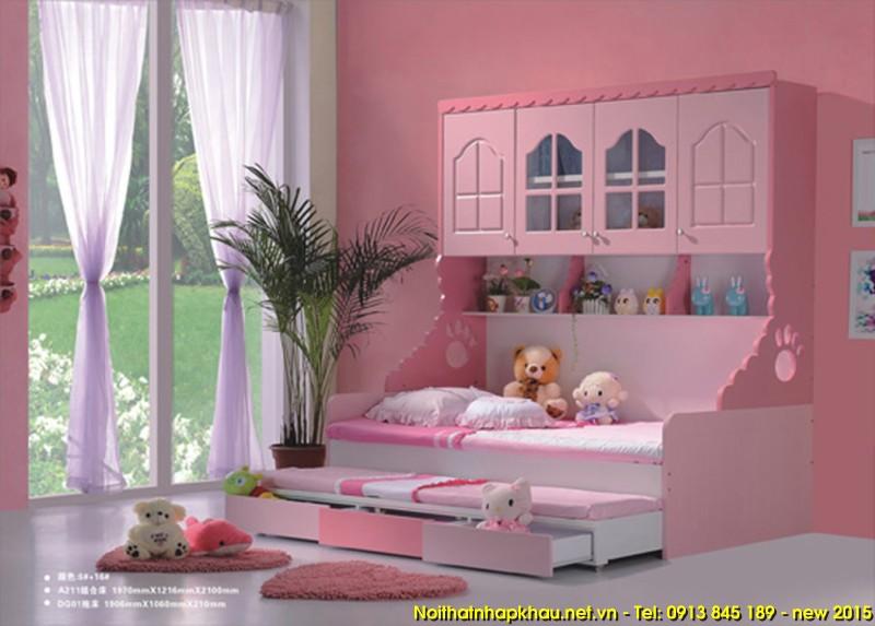 Giường tầng đẹp A211