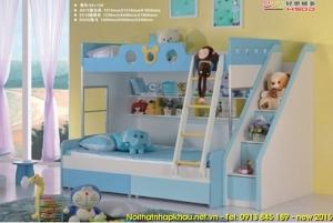 giường tầng đẹp cho trẻ em A215