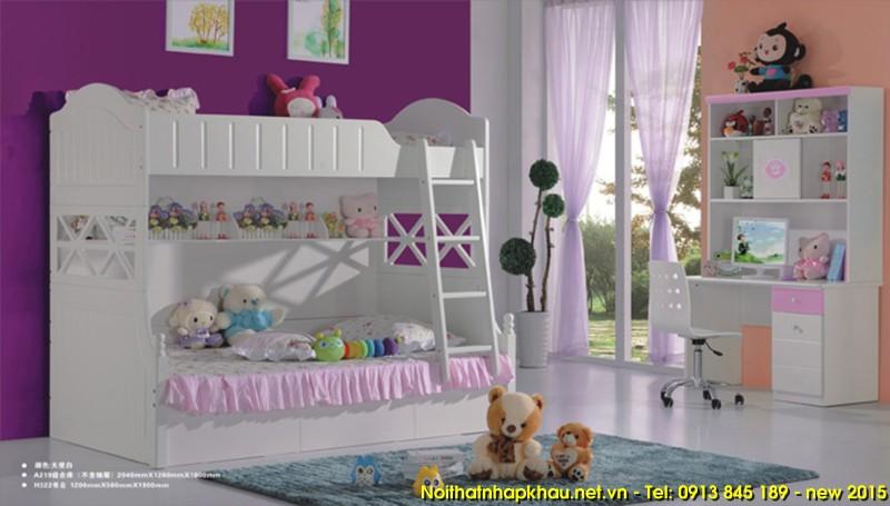 Giường tầng trẻ em A219