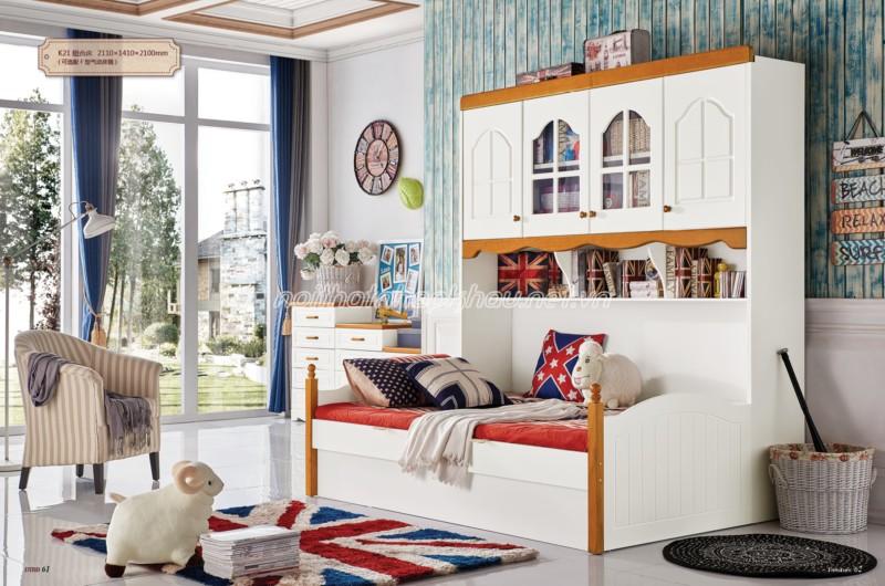 Thay đổi không gian phòng ngủ của bé với giường tầng đẹp