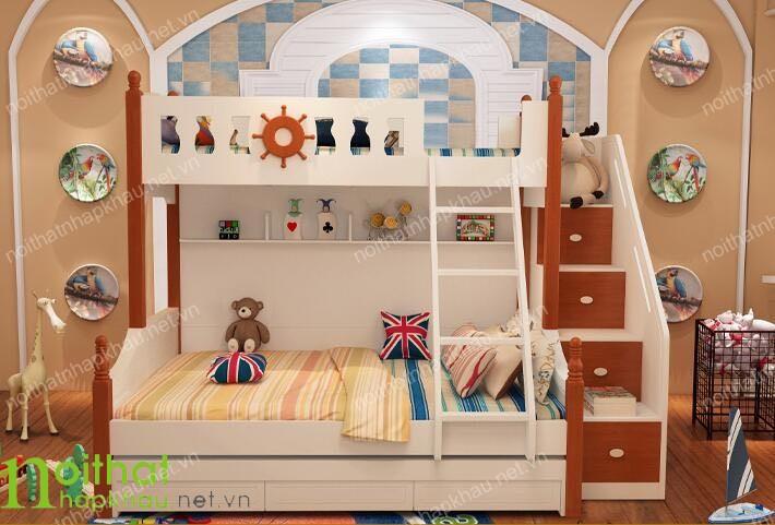 Giường tầng nhập khẩu A07
