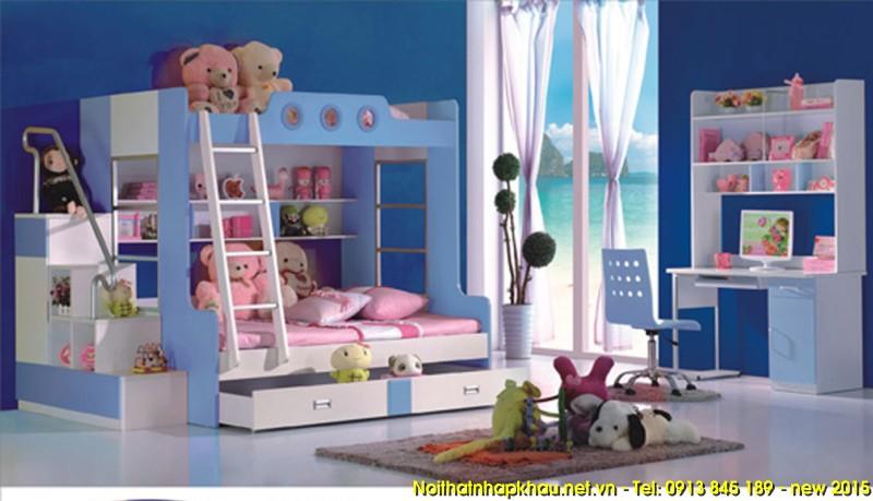 Giường tầng trẻ em A222