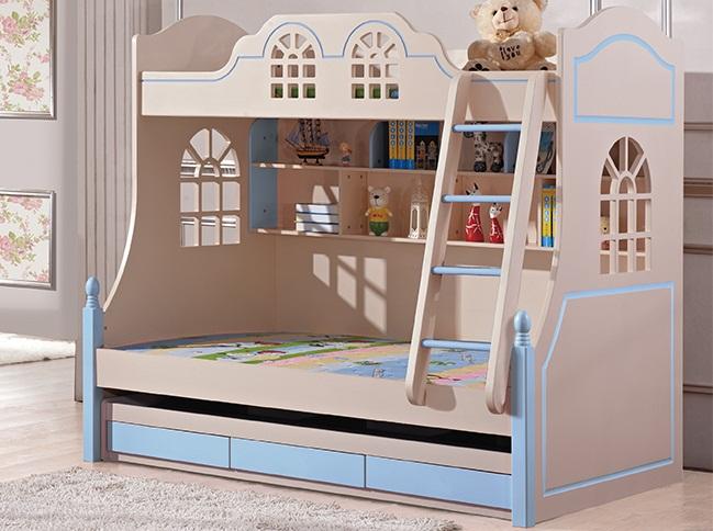 Giường tầng đẹp H989A