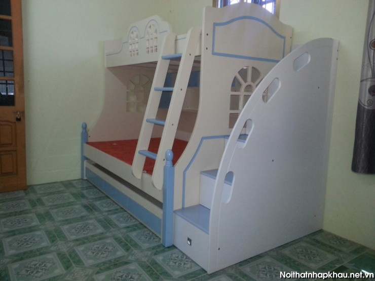 giuong-tang-h989A-xanh