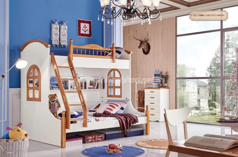 Những ưu điểm tuyệt vời khiến giường tầng ngày càng được sử dụng nhiều - 157501