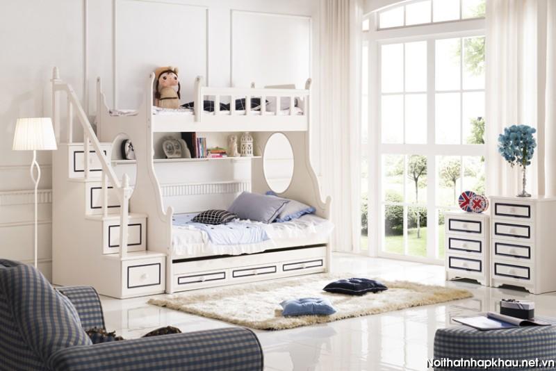 Giường tầng trẻ em A620