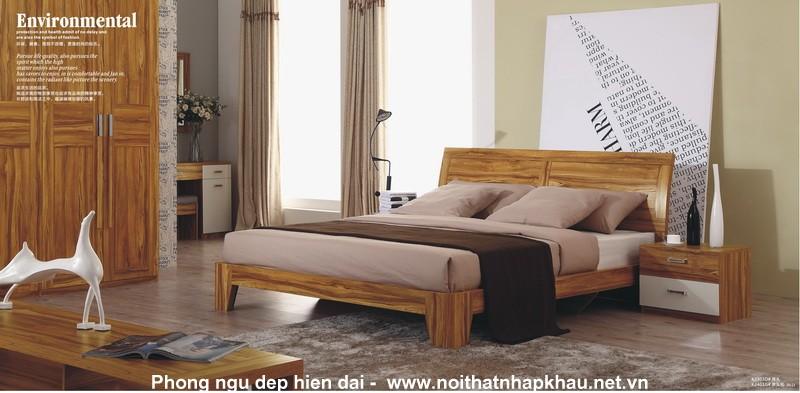 Giường ngủ laminate K2303D