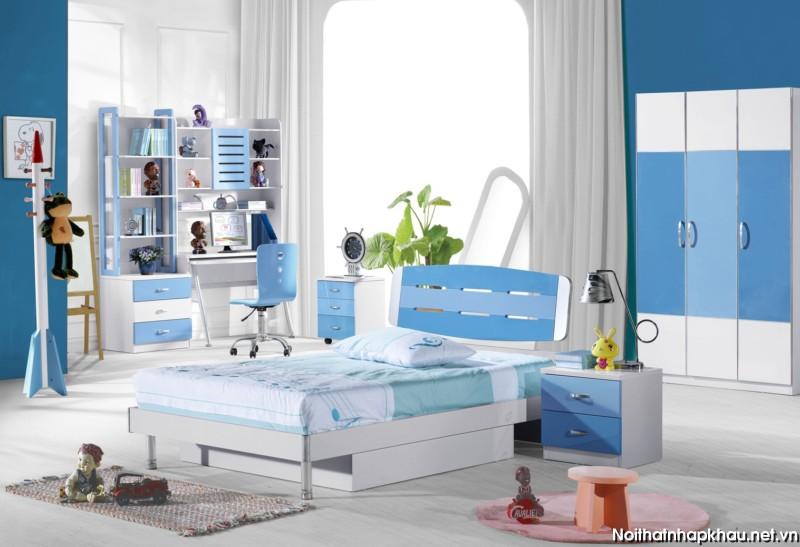 Tham khảo các mẫu thiết kế nội thất phòng ngủ trẻ em