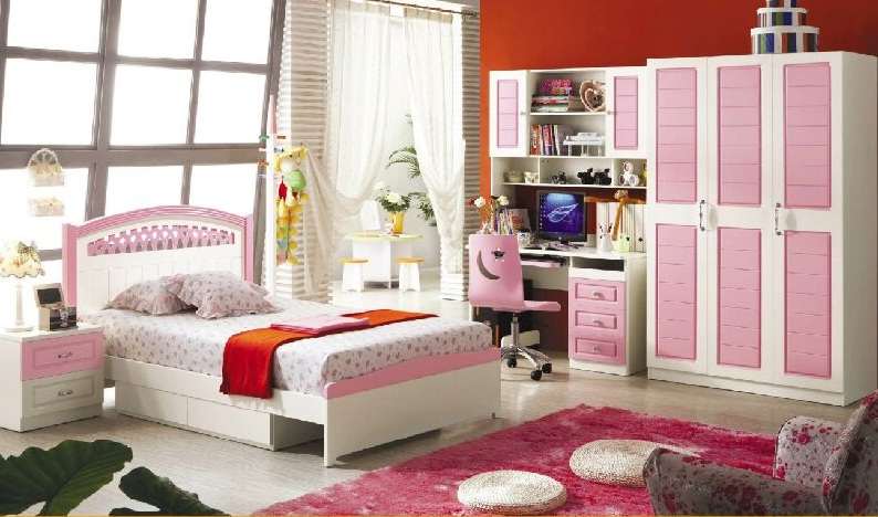 Phòng ngủ đẹp 202 Màu hồng