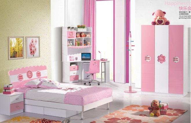 Phòng ngủ đẹp 808 Hello Kitty