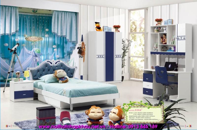 Phòng ngủ trẻ em 838A