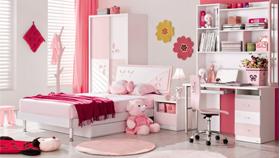 Phòng ngủ đẹp 9021 hồng