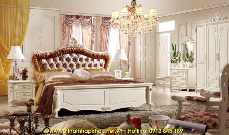Giường ngủ đẹp 907