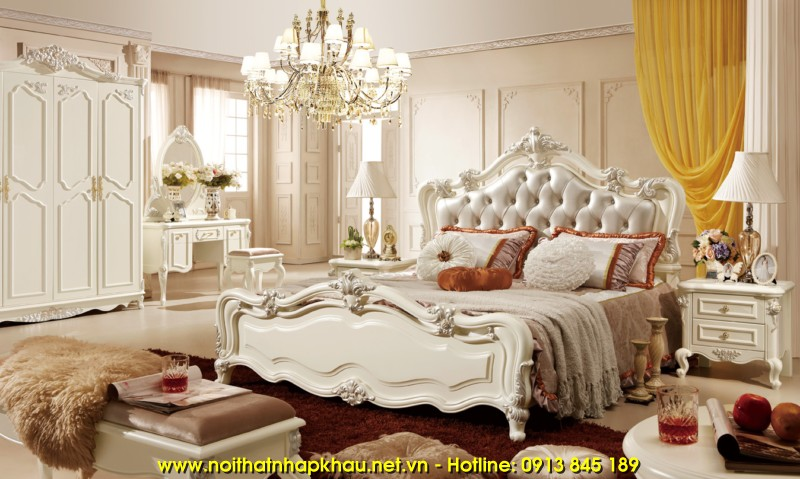 Giường ngủ đẹp 910