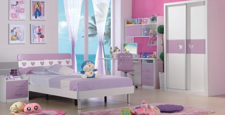 Phòng ngủ đẹp A603 tím