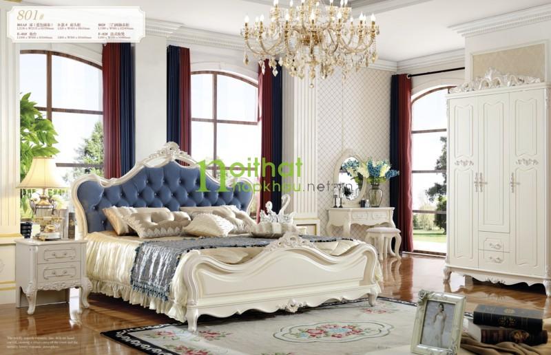 Giường ngủ đẹp 801A