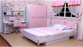 Phòng ngủ đẹp 8152 hồng
