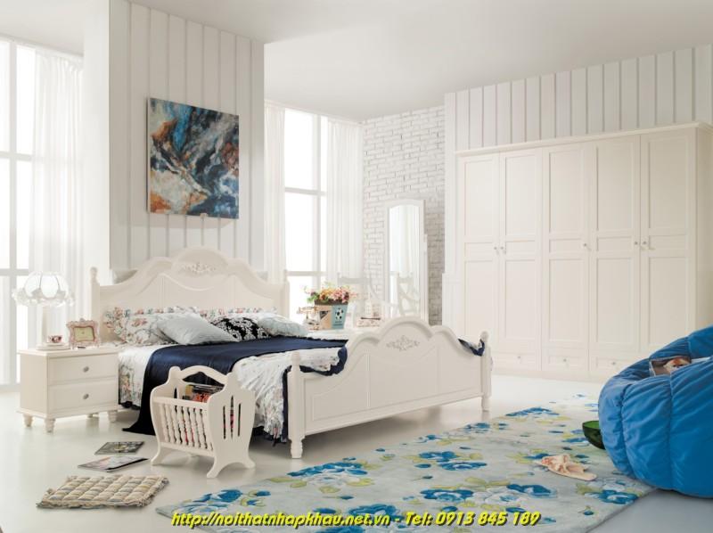 Giường ngủ đẹp 8A18