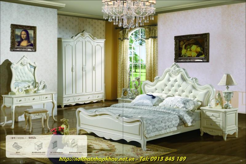 Giường ngủ đẹp 8A52