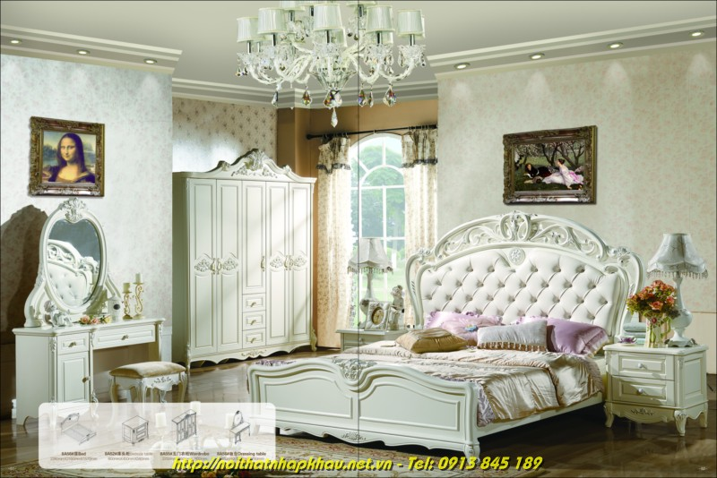 Giường ngủ đẹp 8A56