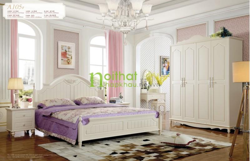 Giường ngủ đẹp A105