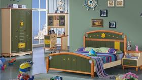 Phòng ngủ đẹp D305 xanh