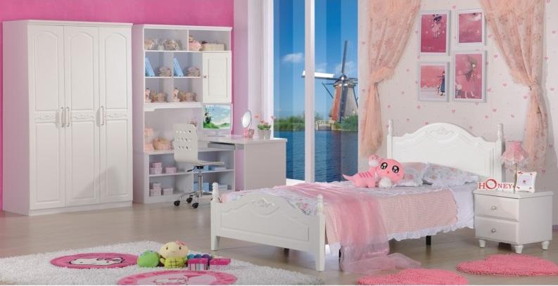 Giường ngủ đẹp trẻ em KA617
