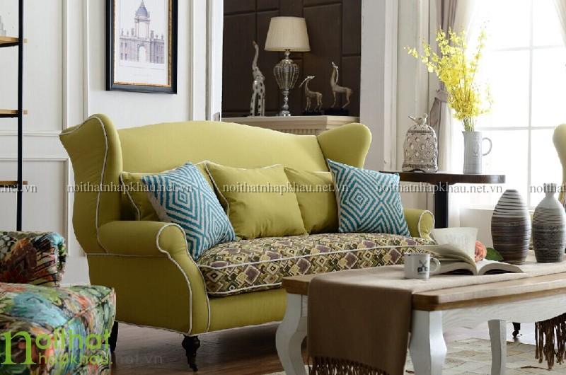 Sofa 123 tân cổ điển châu âu 3024