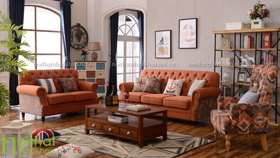 Sofa 123 tân cổ điển châu âu 3073