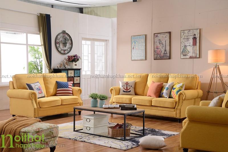 Sofa 123 tân cổ điển châu âu 3077