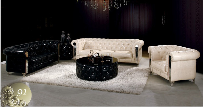 Bố trí ghế sofa màu sắc hài hòa