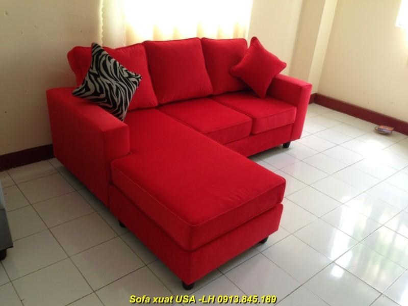 Sofa xuất khẩu SLN02-đỏ